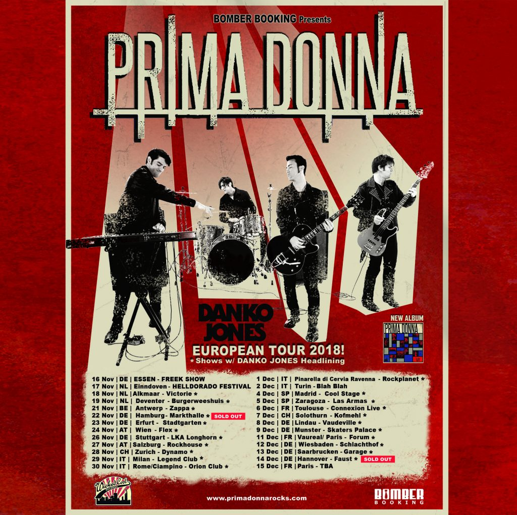 Poster for 2018 tour.